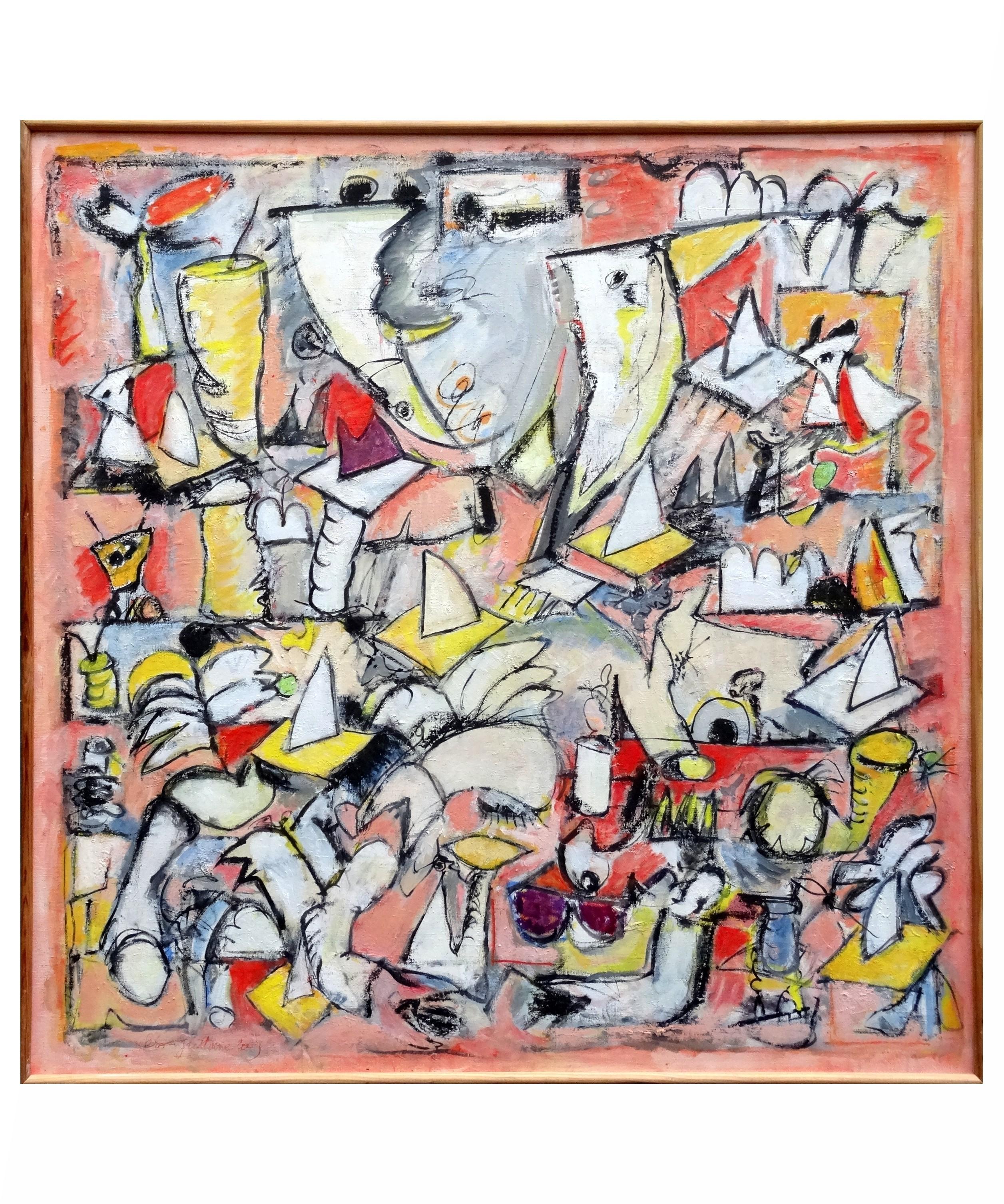 Oeuvre figures par philippe s ro guillaume - Tableaux tryptiques contemporains ...