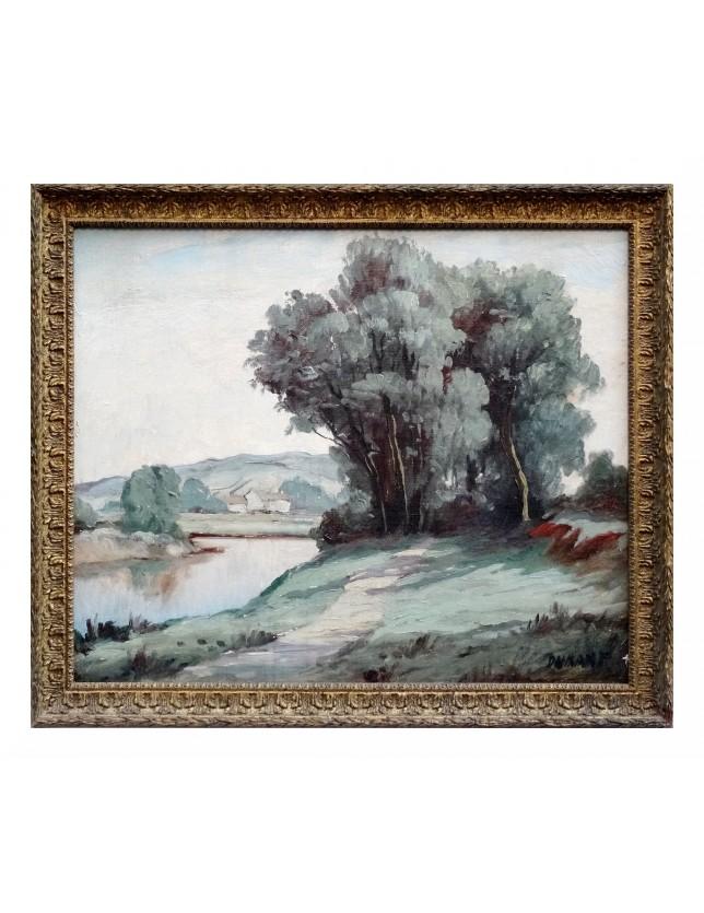 L'arbre sur la rivière