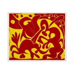 Pique (Rouge et jaune)