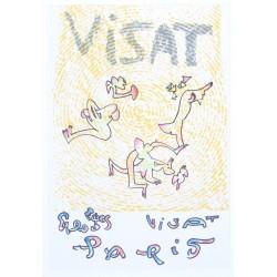 Lithographie pour Visat