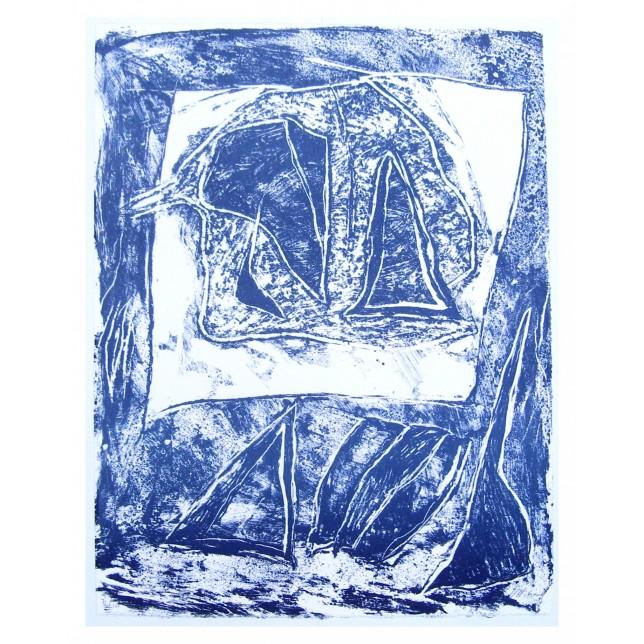 Composition bleue I