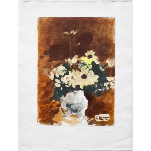 Vases aux fleurs jaunes