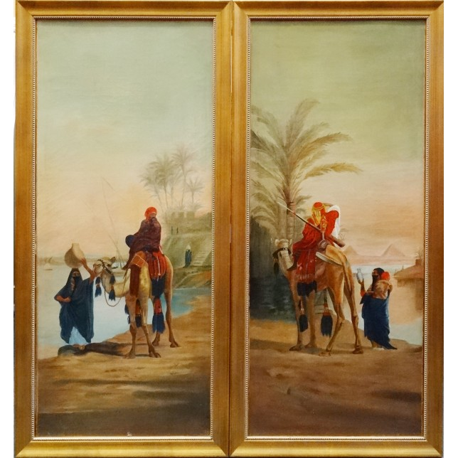 Paysage orientaliste