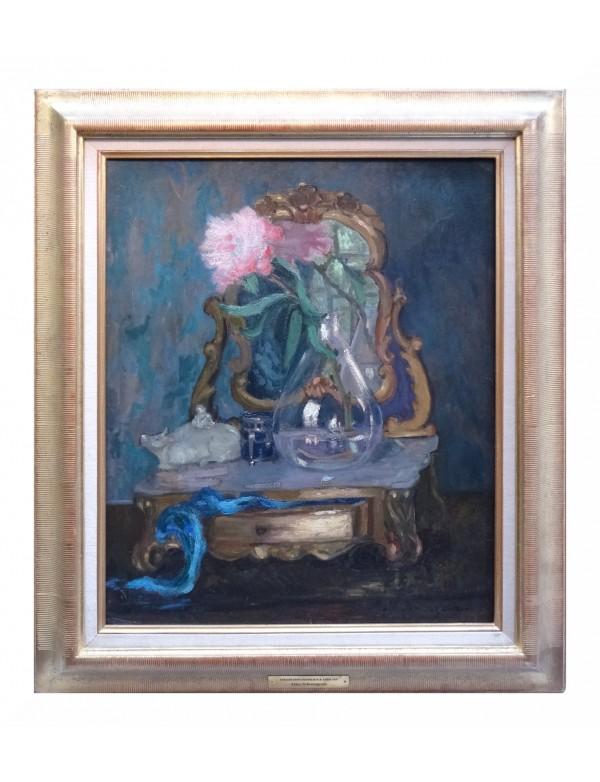 Oeuvre le miroir par alice schoengrun for Balthus alice dans le miroir